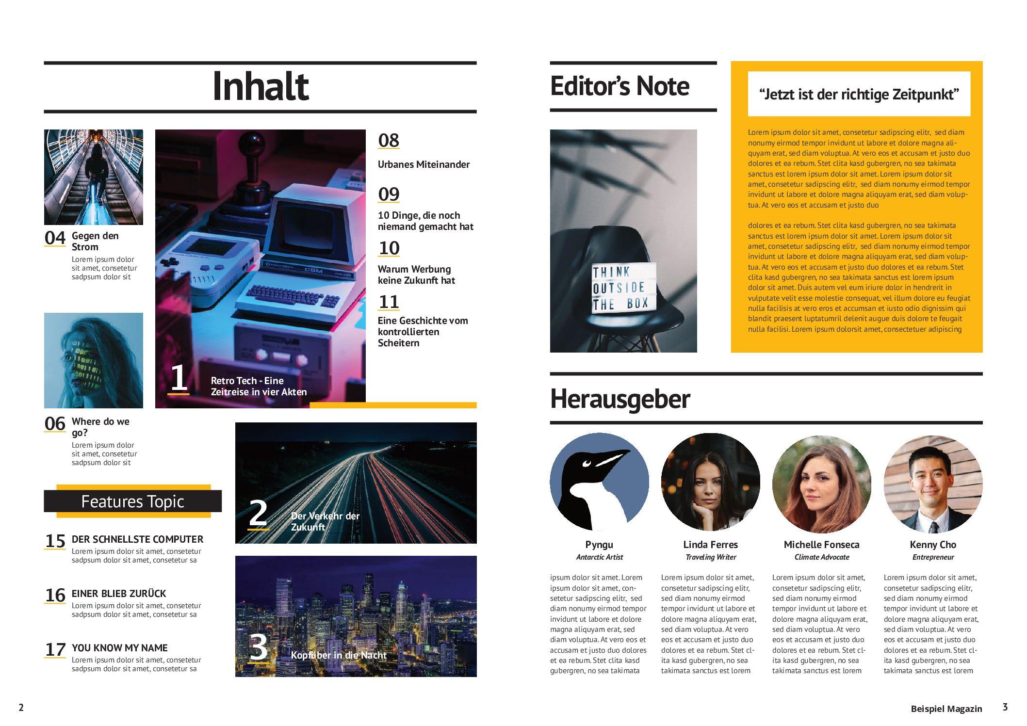 Beispiel Magazin pdf
