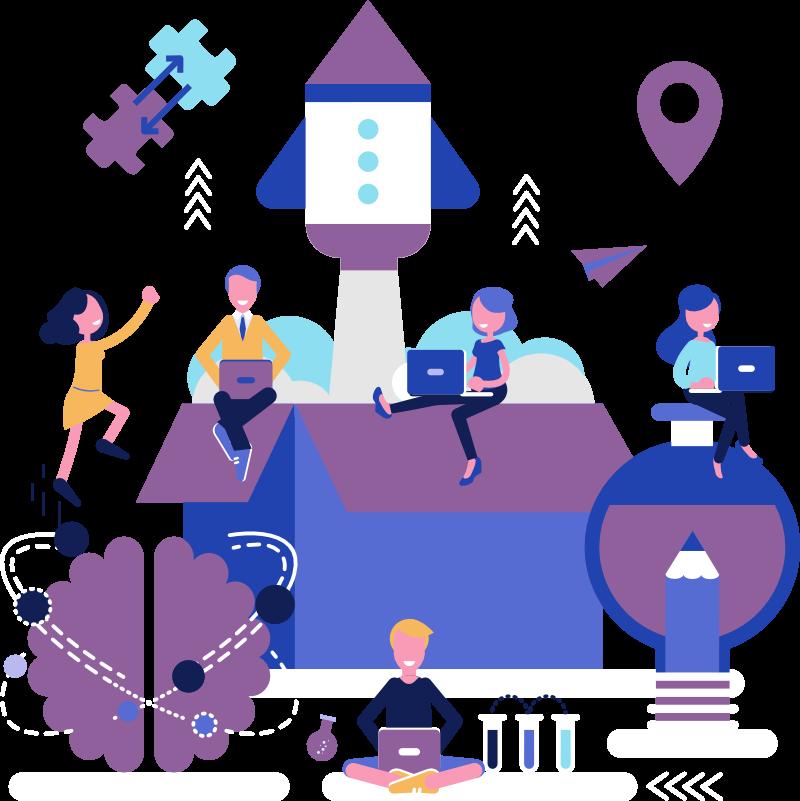 Grafik Startup