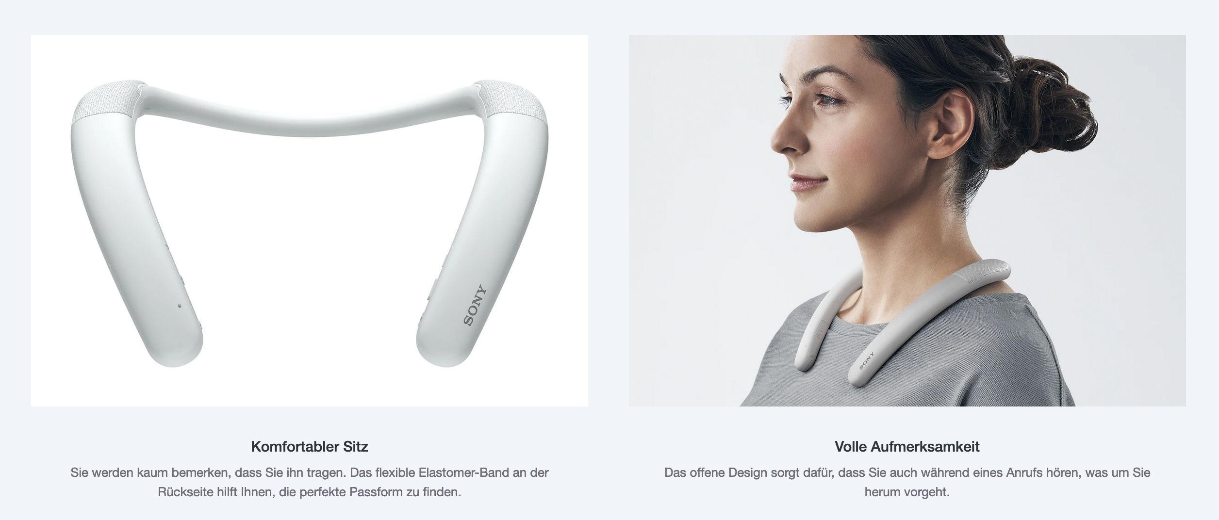 Sony Bluetooth Nackenbügel-Lautsprecher SRS-NB10
